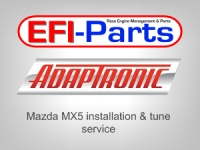 Adaptronic ECU install and tune for Mazda MX5