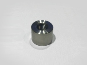 M12 x 1.5mm stainless steel weld on boss